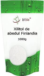 Azucar de Abedul Vivio. Xilitol Genuino de Finlandia. 100% Natural. Envase Autocierre