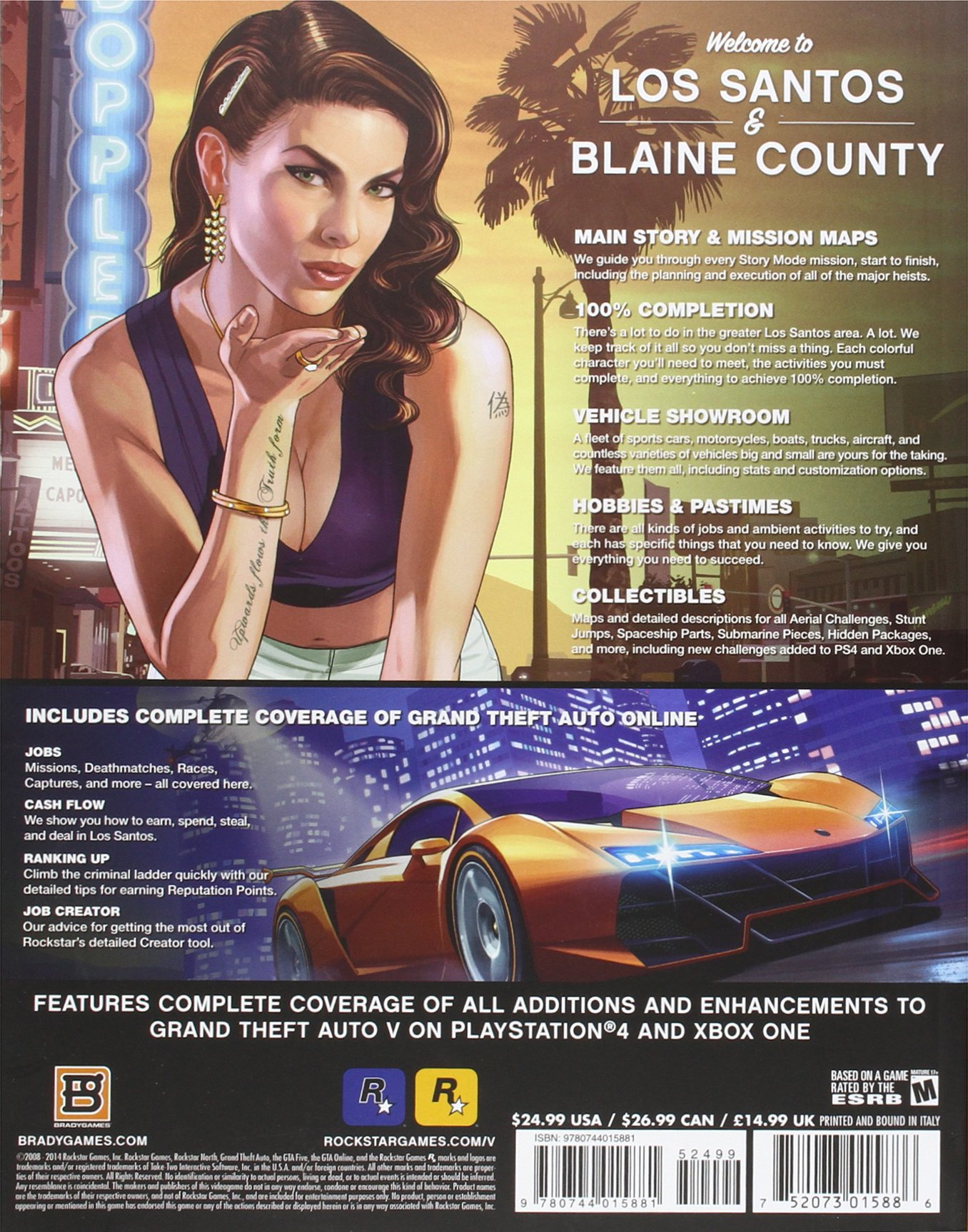 Grand Theft Auto V Signature Series Strategy Guide: Updated and Expanded Bradygames Signature Series: Amazon.es: BradyGames: Libros en idiomas extranjeros