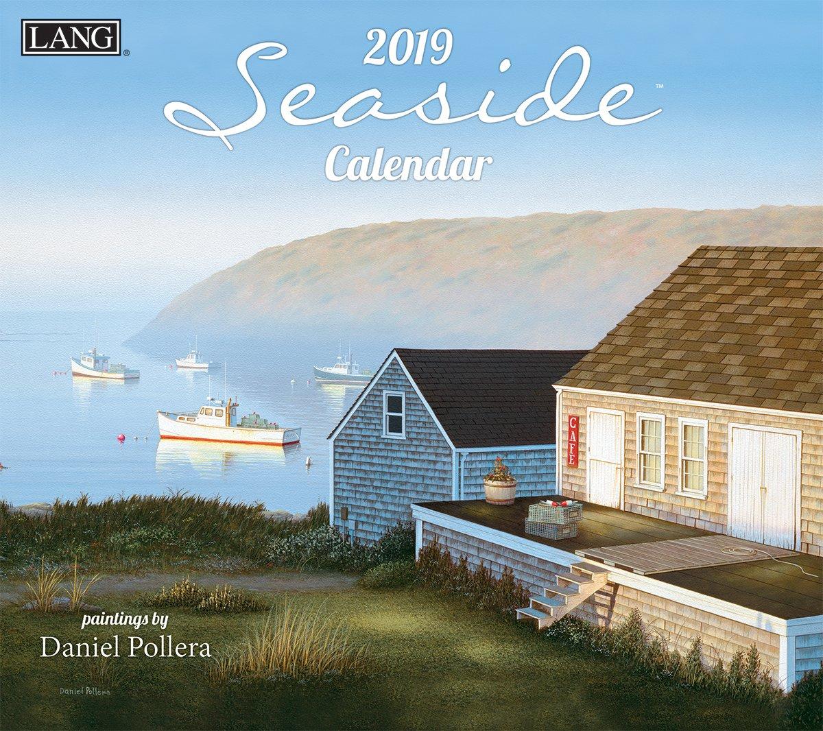The Lang Companies Seaside 2019 Wall Calendar (19991001877)