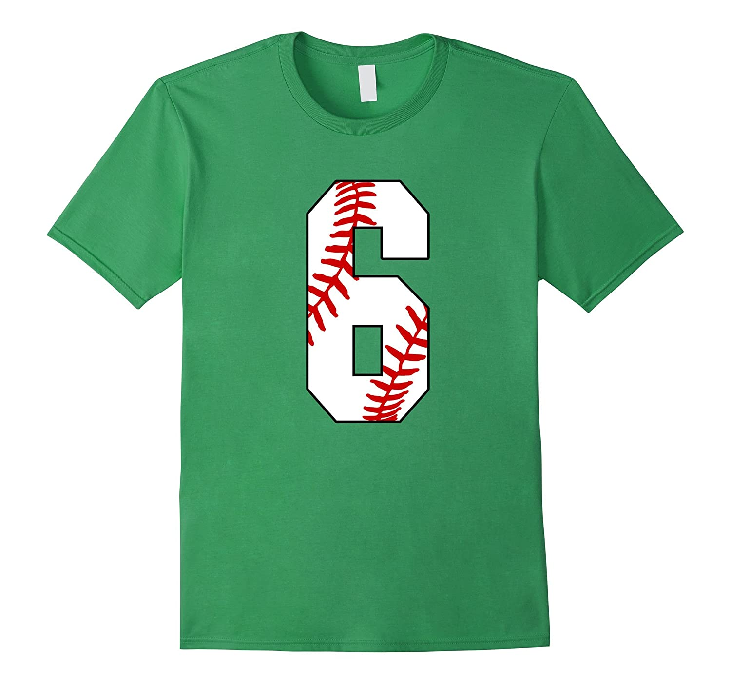 6 Baseball 6th Birthday Boy Six Years T Shirt BN