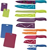 Farberware 16-pc. Knife and Cutting Board Geo Set One Size