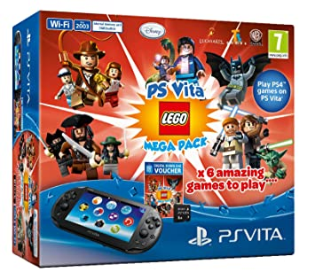 Amazon.com: Sony PS Vita Slim Console Lego Mega Pack Bundle ...