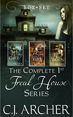 The Complete 1st Freak House Trilogy: Box set (The 1st Freak House Trilogy)