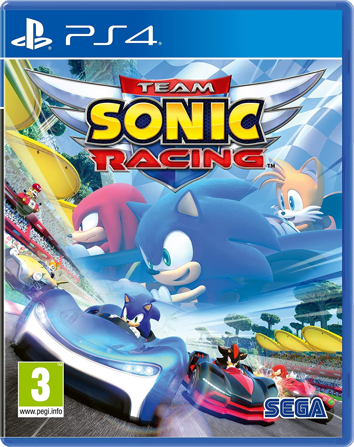Team Sonic Racing (PS4): Amazon co uk: PC & Video Games