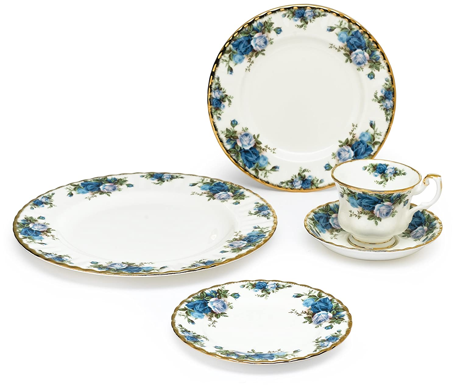 Royal Albert Moonlight Rose 5-Piece Place Setting, Service for 1 Royal Doulton 15185002