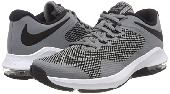 Amazon.com | Nike Mens Air Max Alpha Trainer, Cool Grey/Black | Fitness & Cross-Training