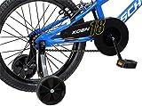 Schwinn Koen Boy's Bike, Featuring SmartStart Frame to Fit Your Child's Proportions, 18inches Wheels, Blue