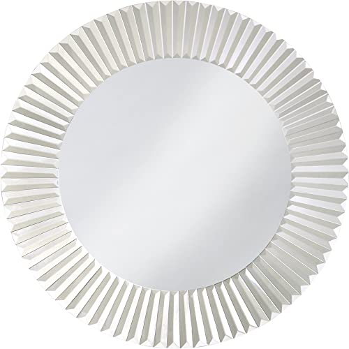 Howard Elliott 11005 Torino Decorative Round Wall Vanity Mirror