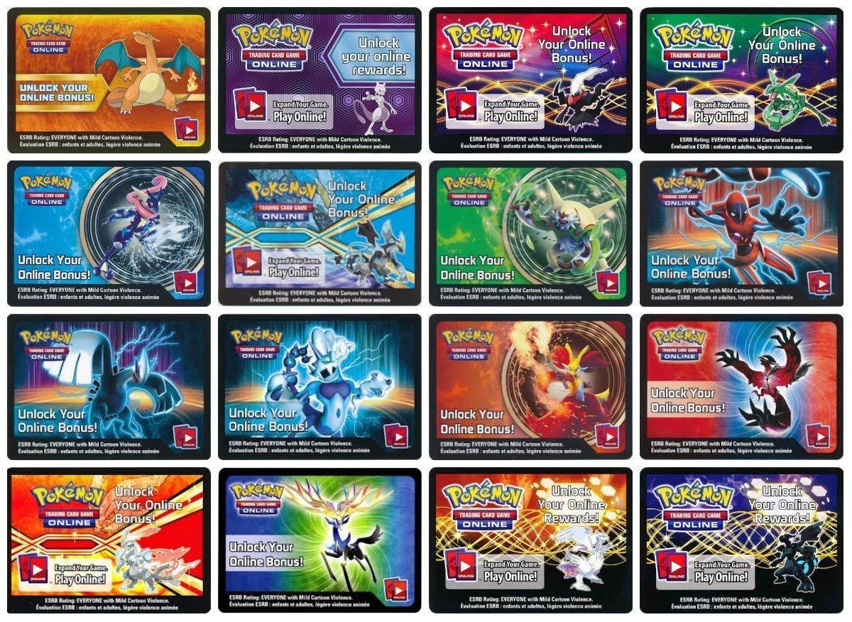 Pokemon 10 EX Code Cards