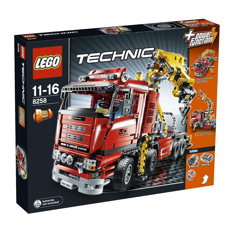 LEGO Technic Camión grúa motorizado versión inglés