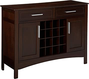 Cappuccino Finish Sideboard Winsome Wood Gordon Buffet Cabinet