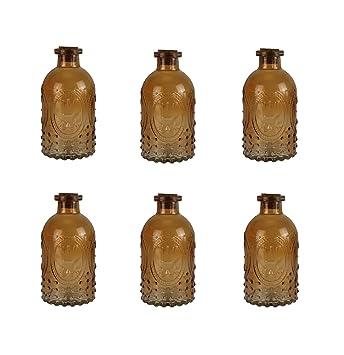 Botella Decoración Botella De Vidrio 6 Piezas Corcho Las Eng Recipientes De Corcho Decoración Farmacia Botella Botella De Licor Vidrio De Boticario Vidrio ...