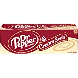 Dr Pepper & Cream Soda, 12 Fluid Ounce Cans, 12 Pack
