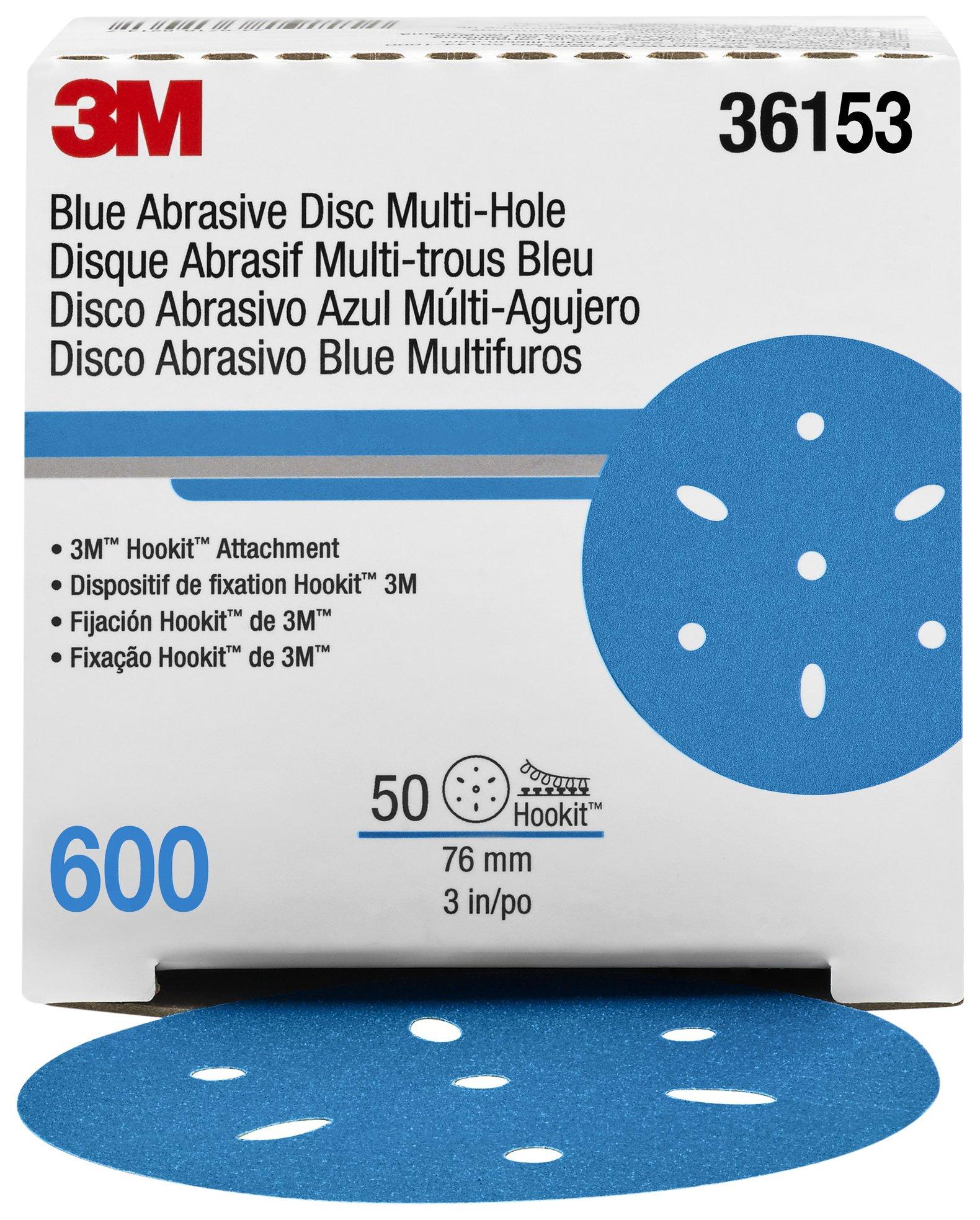 Hookit 36153 Blue Abrasive Disc