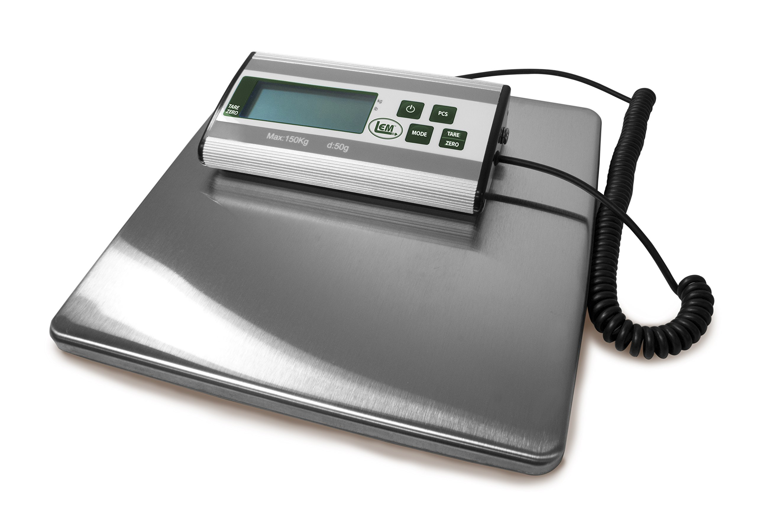 LEM Products 1167 Stainless Steel Digital Scale (330-Pound Capacity) by LEM