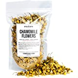 Chamomile Whole Flowers for Tea, Baking, Crafts, Sachets, Baths, Oil Infusions - 4oz in Resealable, Recyclable Pouch - by Bet
