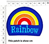 Beautiful Rainbow Peace Love Happy Cartoon Chidren