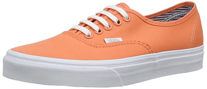 Vans Damen Authentic Sneakers Orange ((Deck Club) Fre Fd5)