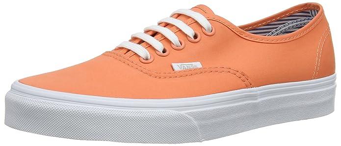 Vans Damen Authentic Sneakers Orange ((Deck Club) Fre Fd5)