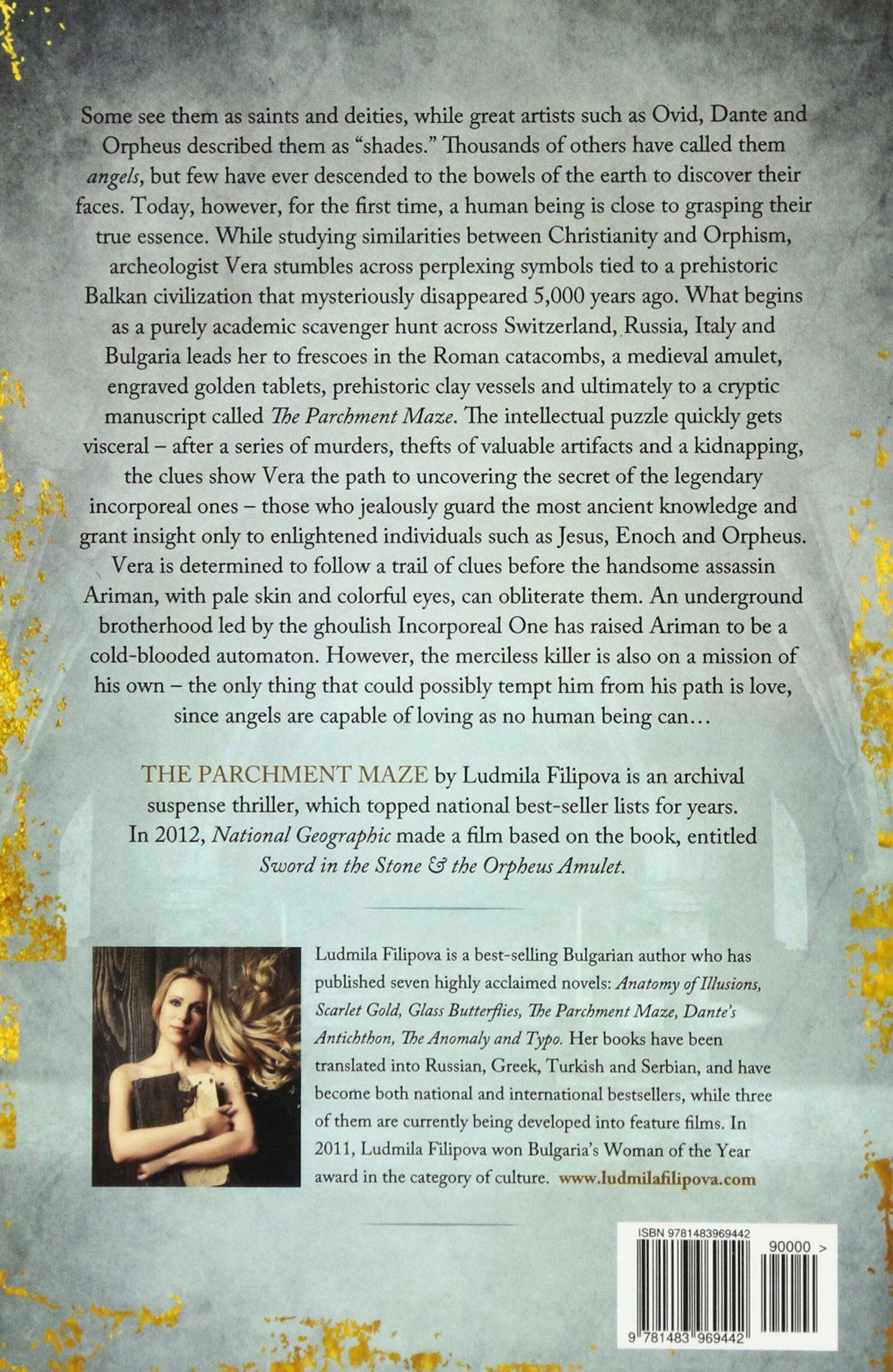 The Parchment Maze Ludmila Filipova 9781483969442 Amazon Books