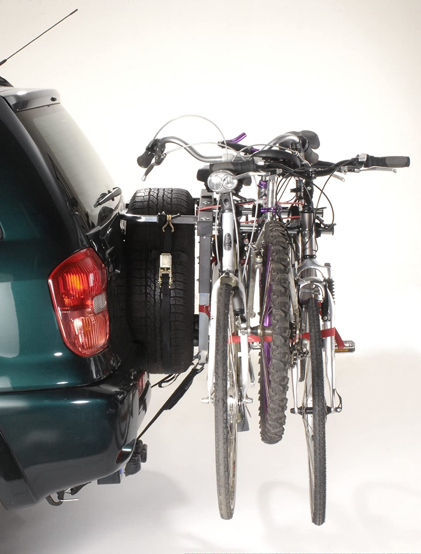 Mottez - Portabicicletas con correas para maletero (3 bicicletas), color negro: Amazon.es: Coche y moto