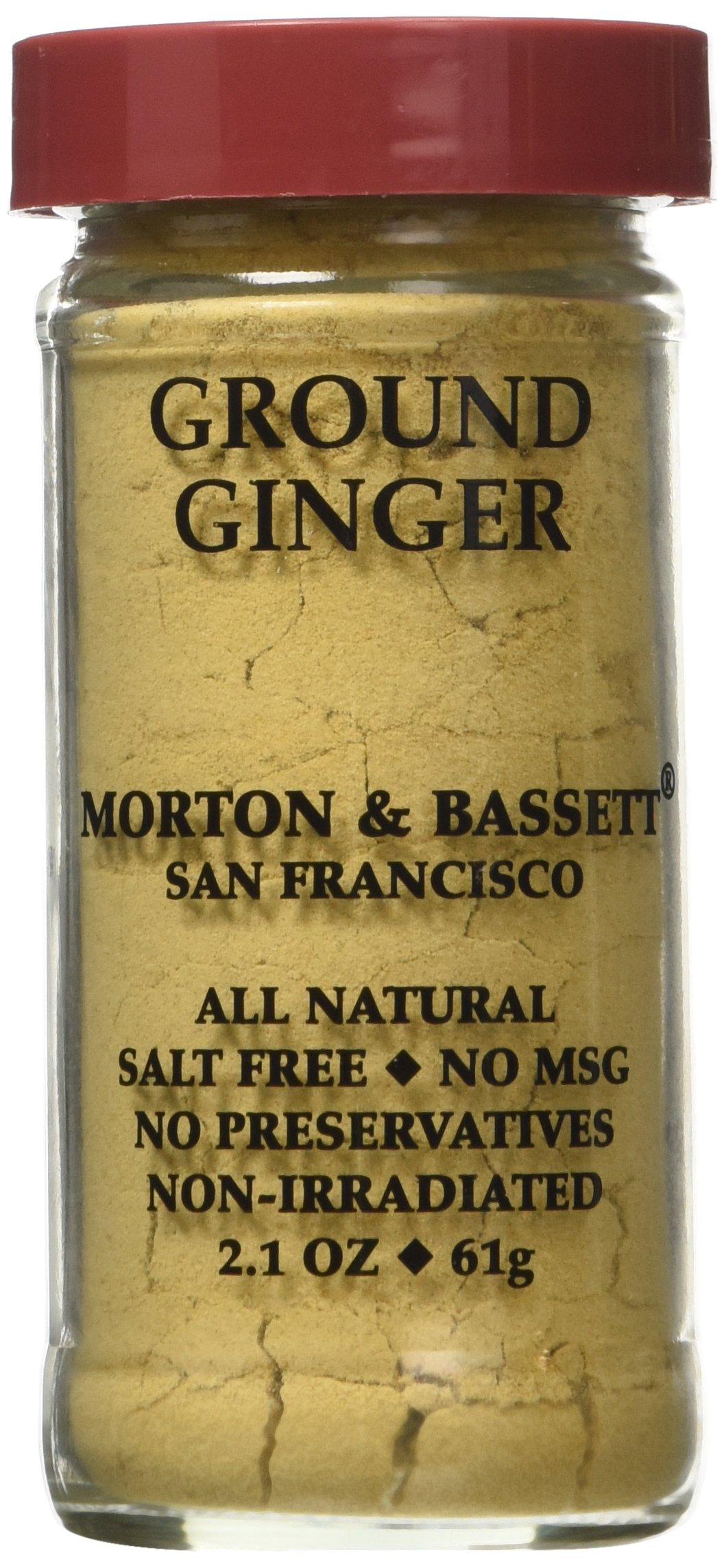 Ground Ginger 3 / 2.1 oz Jar