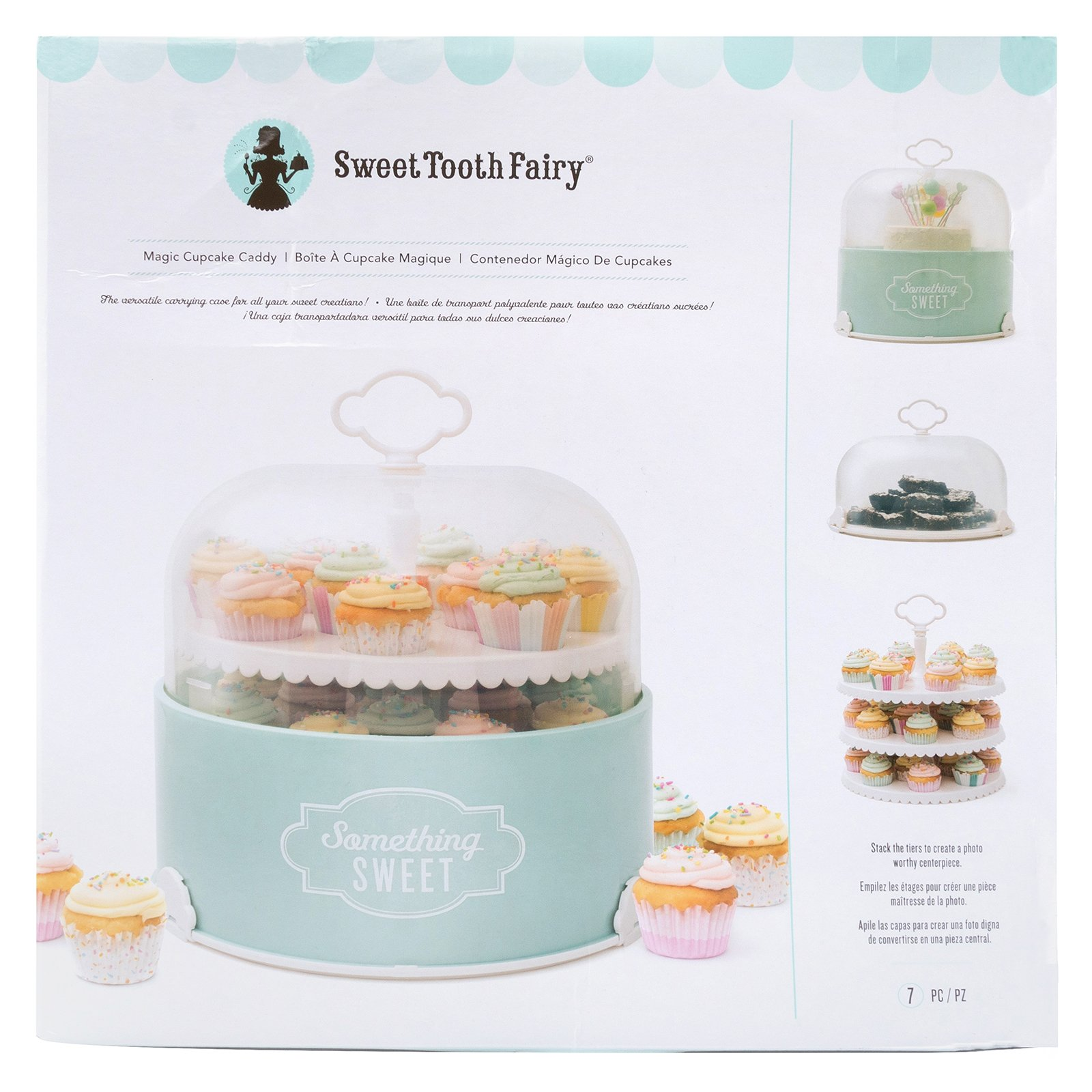 Sweet Tooth Fairy 320093 Magic Cupcake Caddy