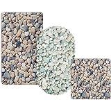 Tapis de fond de bain casa pura® Stone antidérapant | pour douche et baignoire, 3 tailles | sans PVC/latex, antiglisse | 69x40cm (rectangulaire)