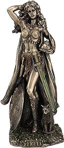 Freya Norse Goddess of Love, Beauty and Fertility Statue