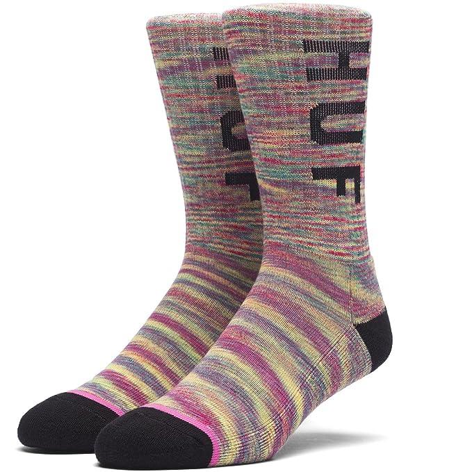 HUF Hombres Melange Og Logo Sock Calcetines - Multi - : Amazon.es: Ropa y accesorios