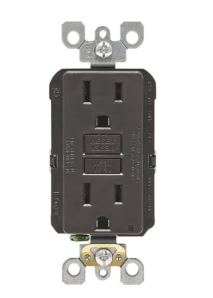 leviton n7599 15 amp 125 volt smartlock pro slim non tamper rh amazon com