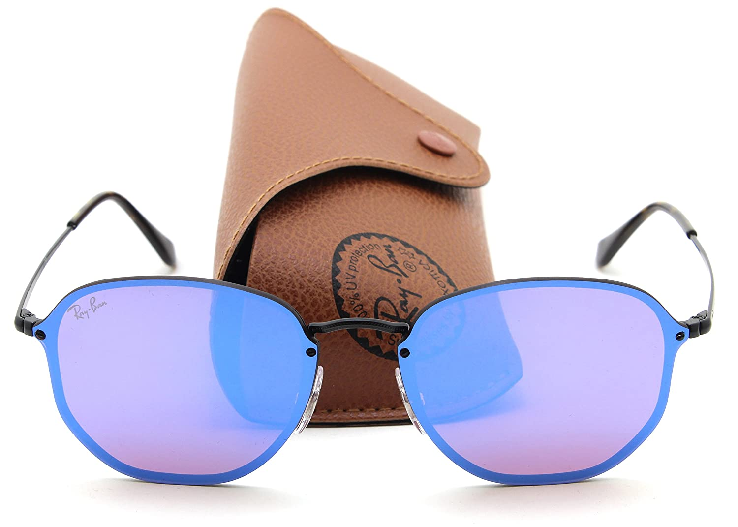 9c0baa7936 Ray-Ban RB3579N BLAZE HEXAGONAL Mirror Sunglasses 153 7V