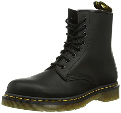 ee9f86f8f8f Amazon.com | Dr. Martens 1460 8 Eye Boot Combat, Black Greasy, 17 ...
