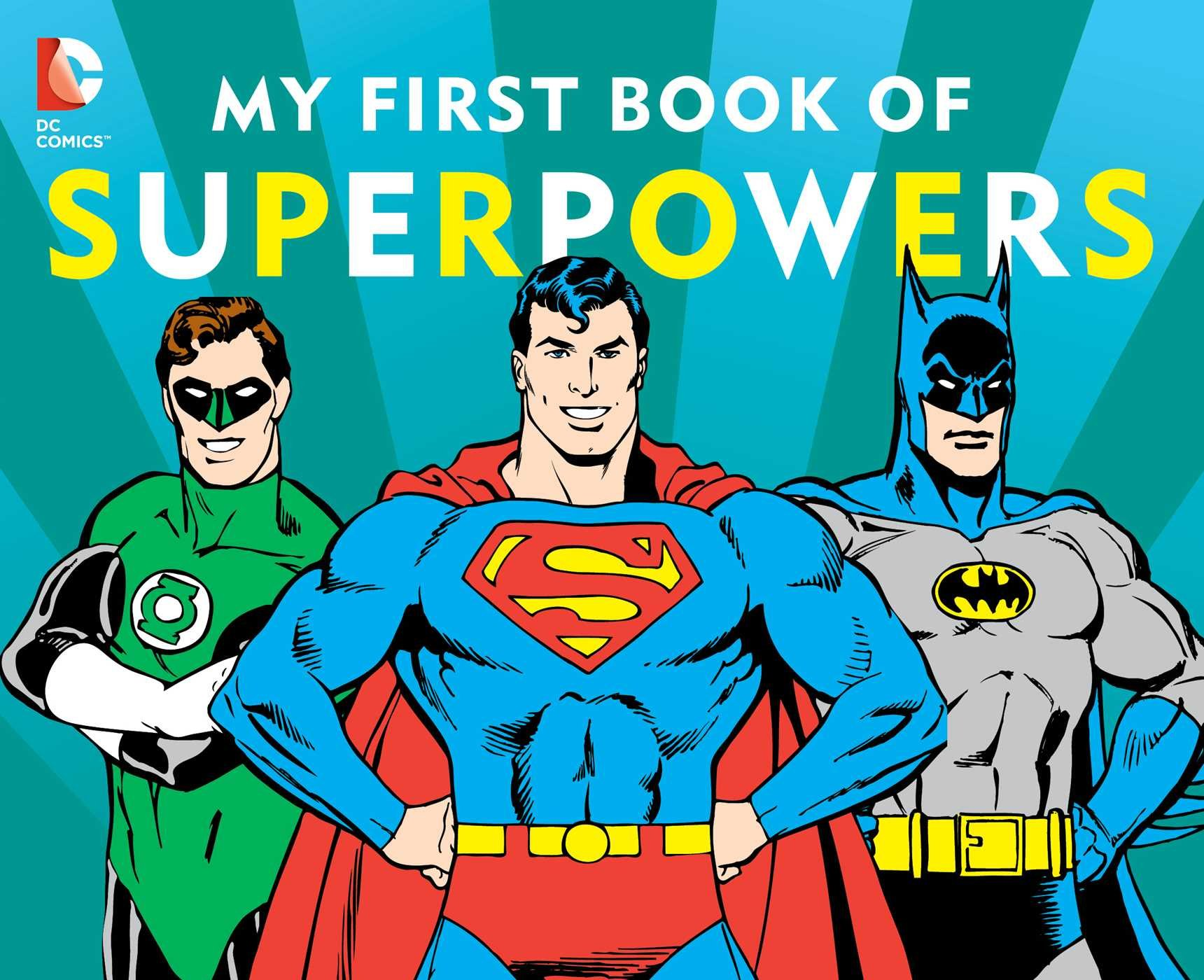 Amazon.com: My First Book of Superpowers (DC Super Heroes ...