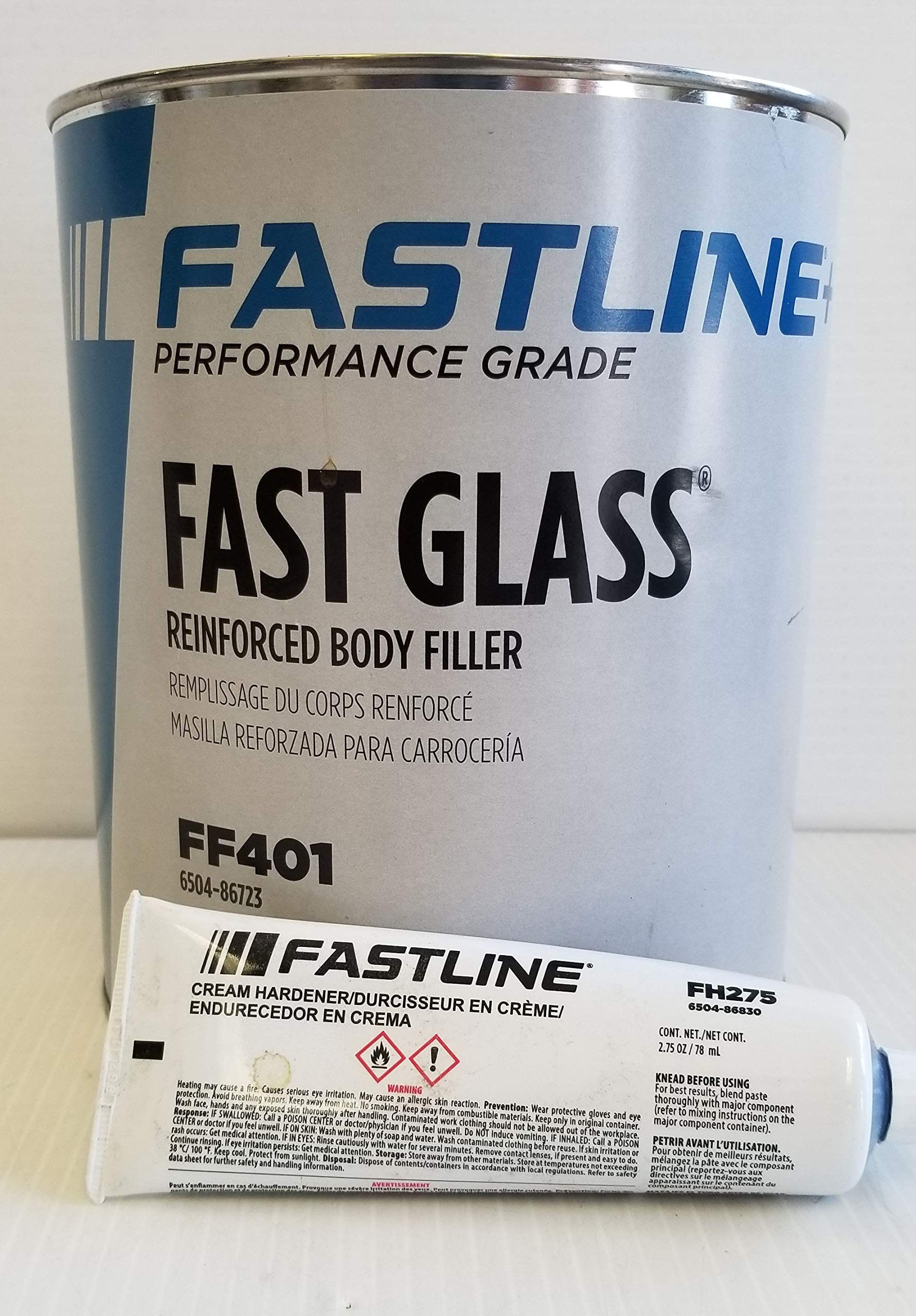 FASTLINE Performance Grade Fast Glass Reinforced Body Filler FF401 AUTO Body Paint Supplies