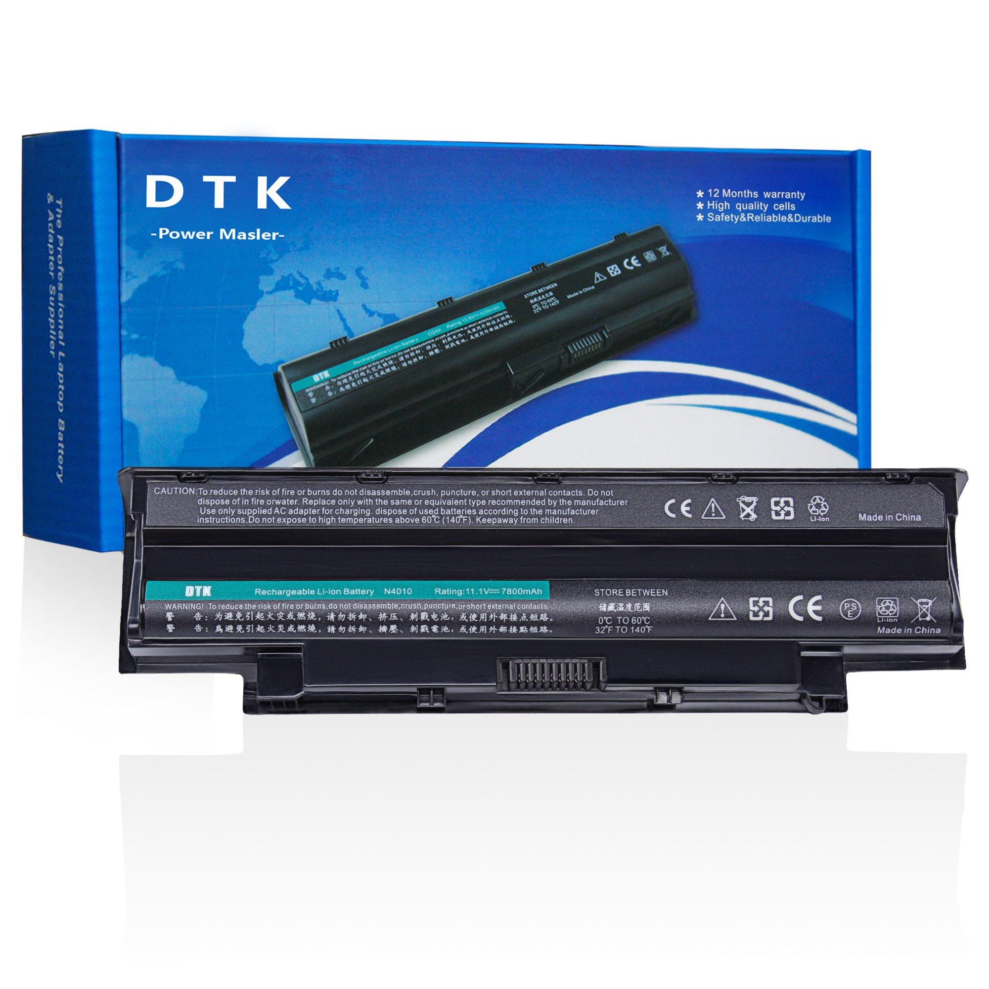 Dtk Notebook Laptop Battery for Dell Inspiron 3420 3520 13r 14r 15r