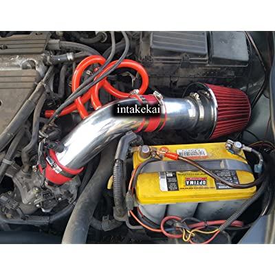 Performance Air Intake for 2004 2005 2006 2007 2008 ACURA TSX 2.4 l4 BASE ENGINE (RED): Automotive