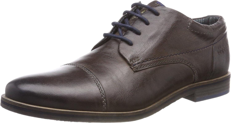 TALLA 46 EU. bugatti 3.11173e+11, Zapatos de Cordones Derby para Hombre
