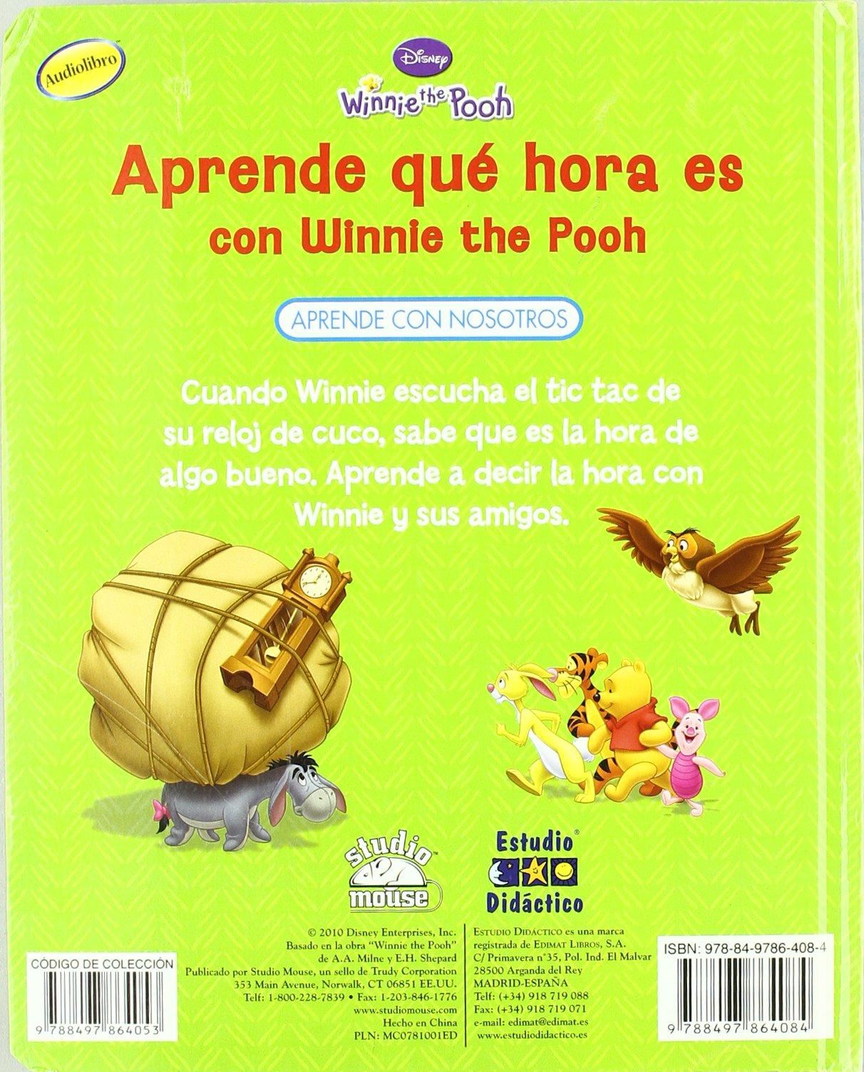 Aprende qu+ hora es con Winnie the Pooh: 9788497864084: Amazon.com: Books