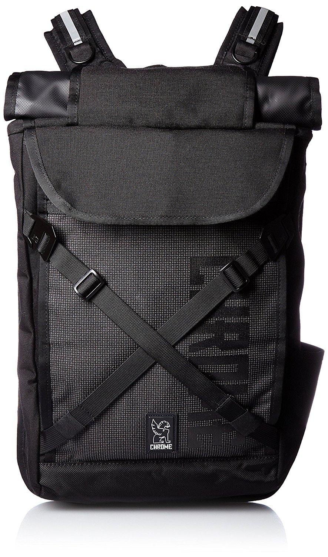 Chrome BG-190-NITE Night Black One Size Bravo 2.0 Backpack by Chrome