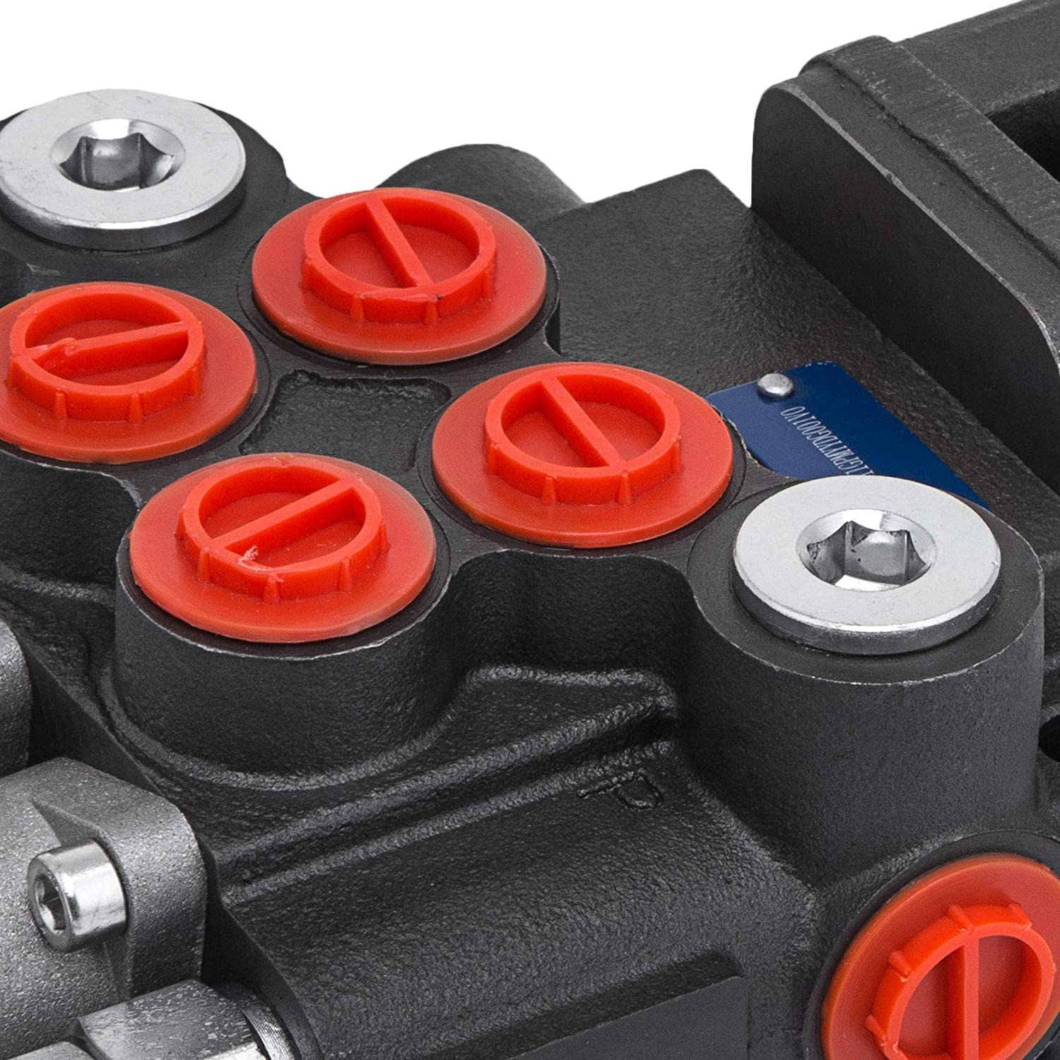Mophor 2 Spool Hydraulic Joystick Control Valve 11gpm Double Acting Cylinder Spool Bsp