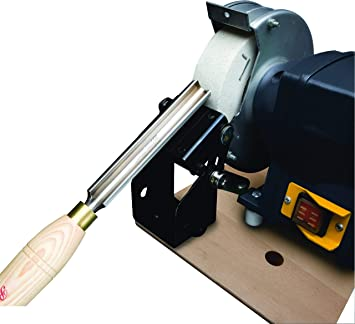 Robert Sorby # 446 Universal Bench Sharpening System for Square Edge Tools Works with Bench Grinders or Vertical Belt Sanders