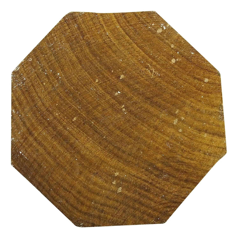 Brown Wooden Block Floral Pattern Hand Carved Textile Wood Stamp Printing Blocks
