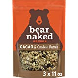 Bear Naked Cacao and Cashew Butter Granola - Non-GMO Project Verified, Fair-Trade Certifed Cocoa and Gluten-Free - 11oz…