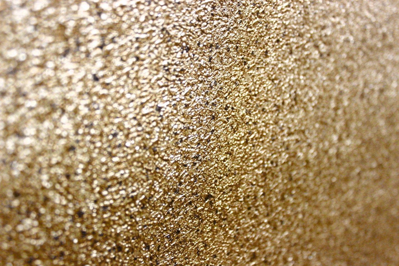 Vlies Tapete gold uni Struktur Hochwertige Qualität Stein Optik ...