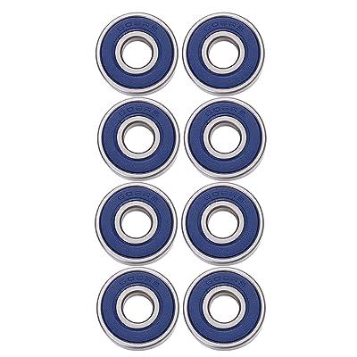 8 Pack Roulements 608 2RS, Double Blindé