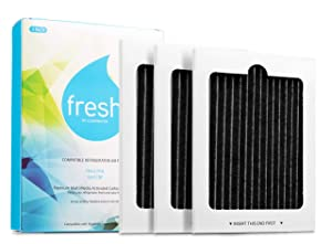 Fresh Replacement Frigidaire Pure Air Ultra PAULTRA Electrolux EAFCBF Air Filter, 3 Pack