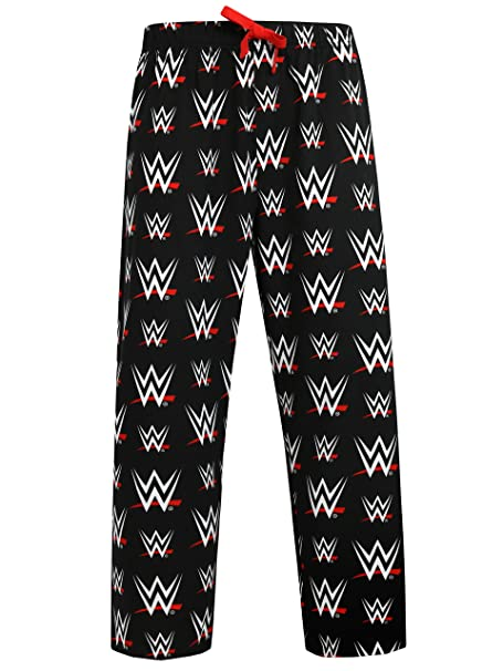 WWE - Pantalones del pijama para Hombre - World Wrestling Entertainment - Small