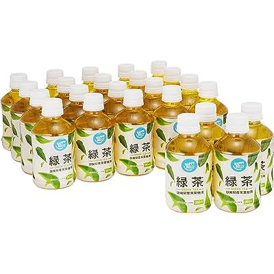 【わけあり】Amazonブランド Happy Belly 緑茶 280ml×24本 送料込763円