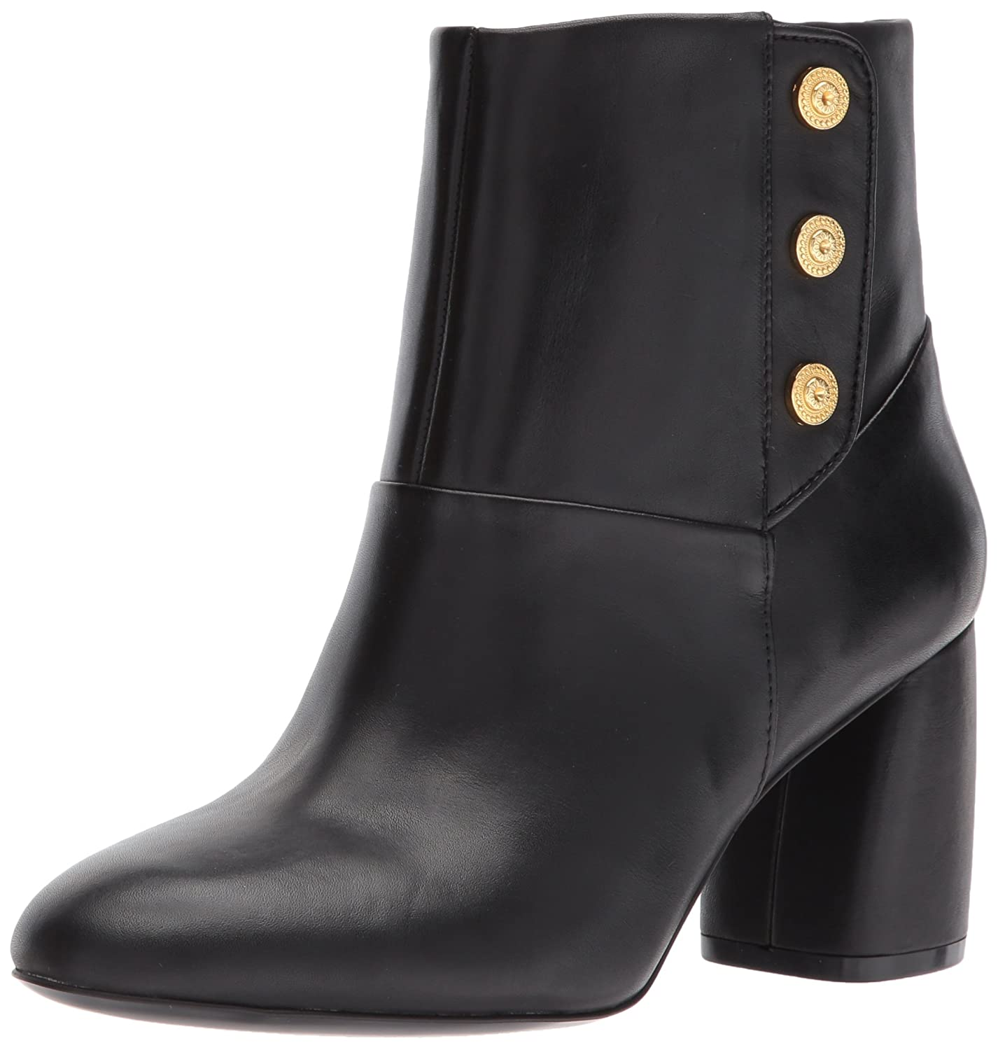 Nine West Women's Kirtley Leather Ankle Boot B01N19KWU2 8 B(M) US|Black